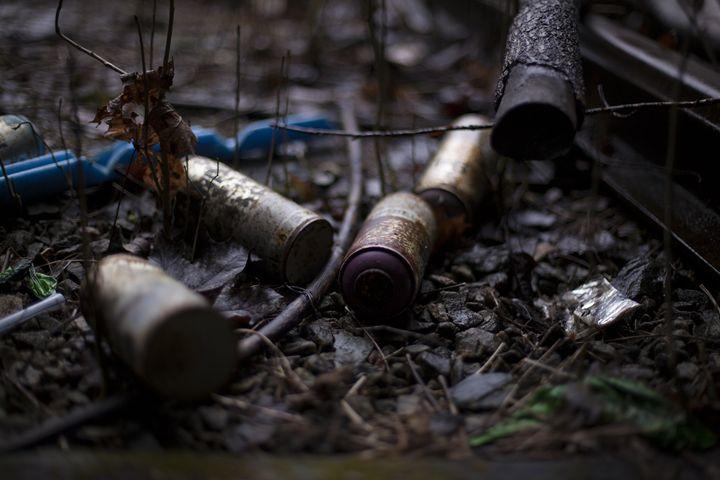 Rusted Spraycans - iHateFabian