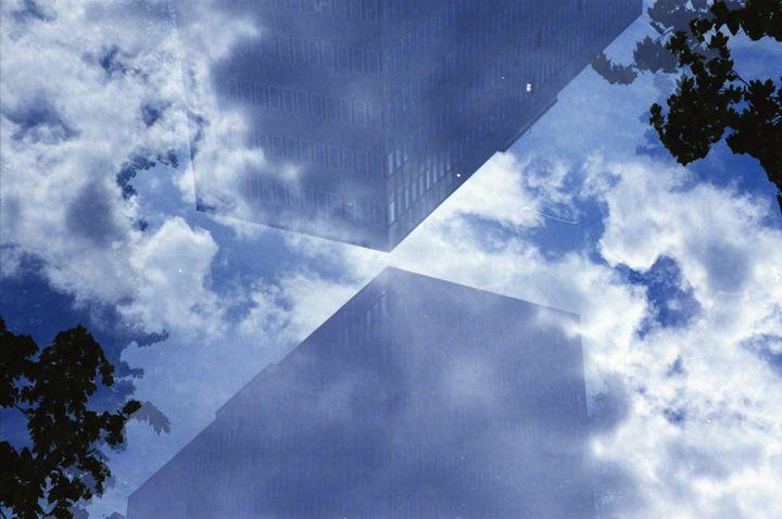 Double Exposure Sky - iHateFabian