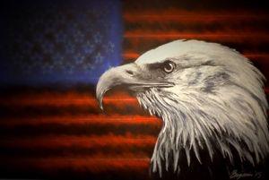 American Eagle - Charcoolart
