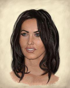 Megan Fox Portrait