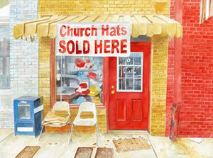 Church Hats Sold Here