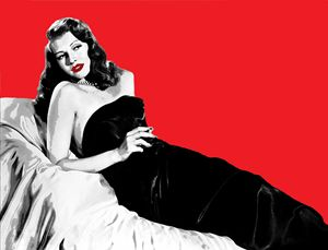 GILDA IN RED