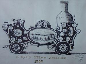 Circus Steam Calliope 1909