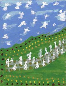 Angelic Impressionistic Landscape