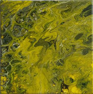 Abstraction around 3 colors : Yellow