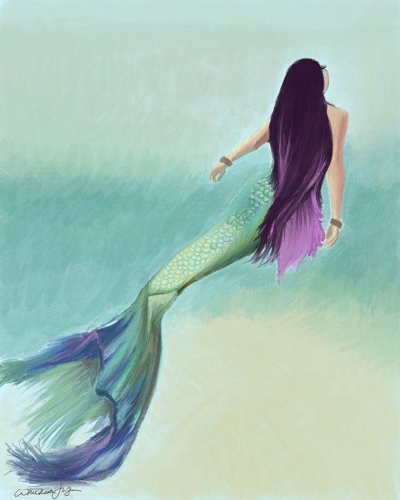 Mermaids are real, sea? - whuckarasART