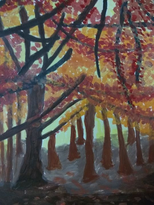Woods - Sindhu's Paintings