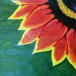 The Big Orange Flower
