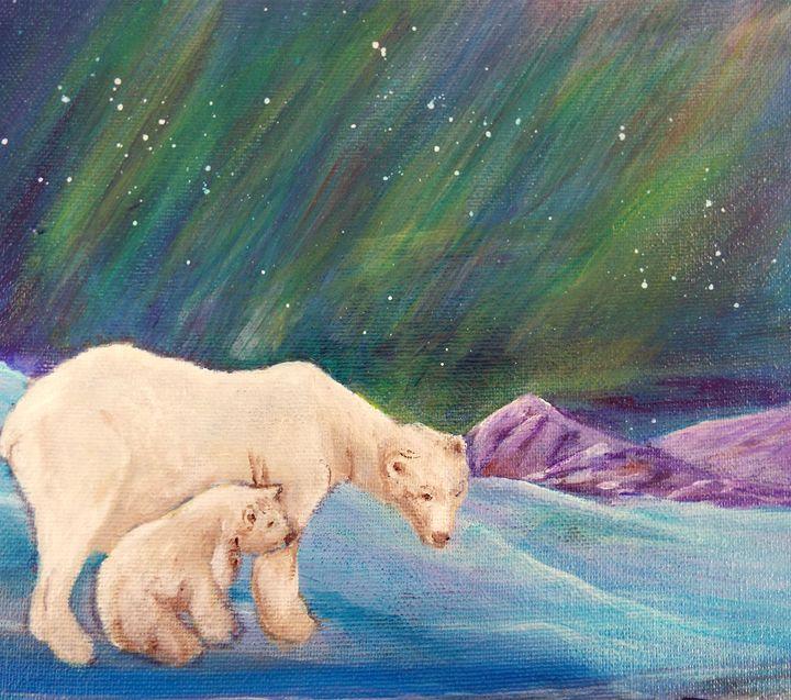 Northern lights - Gayle Lowe