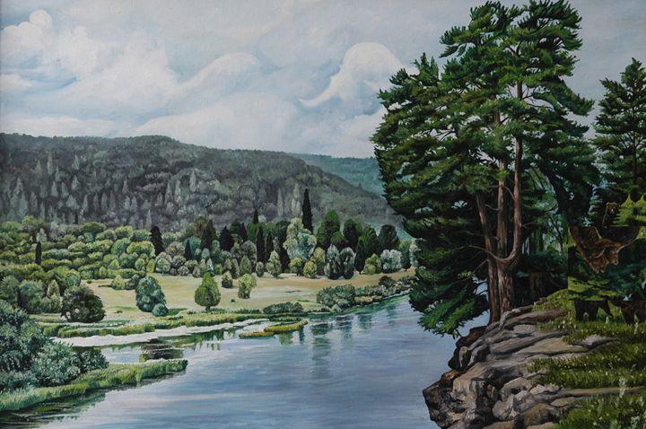 3.      Bears on the Meadow. - Art Galeery Leonid