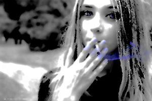 Smoking Blue Eyes