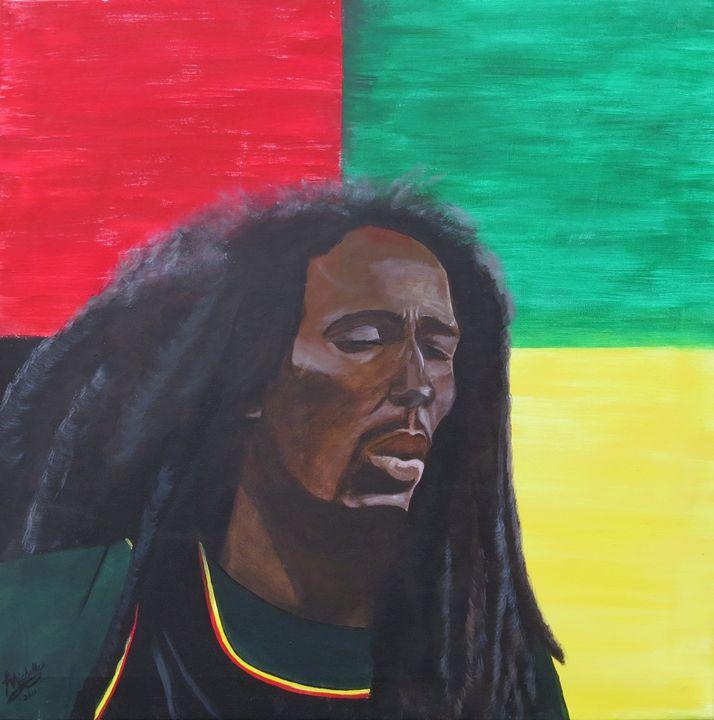 Bob Marley - Muck-About Fine Art