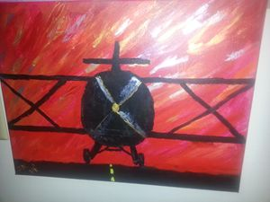 Red Dawn Biplane