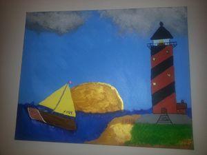 Light house sailing