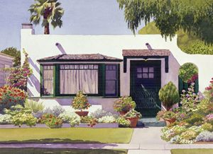 White Bungalow in Coronado