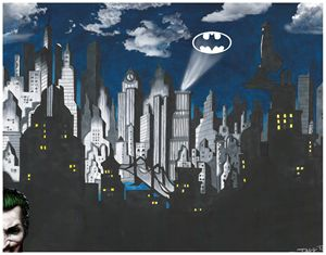Gotham City's Guardian