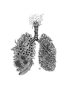 Lungs x Flowers