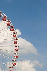 Ferris Wheel By The Pier