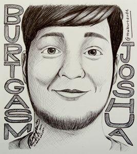 Burtgasm Portrait/Fanart