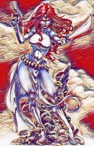 xmen mystique - fantasy art