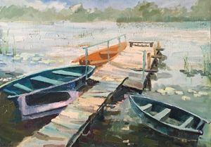 Boats resting time