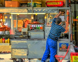 Hot Dog Vendor New York City