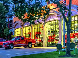 Fire Station Chagrin Falls Ohio