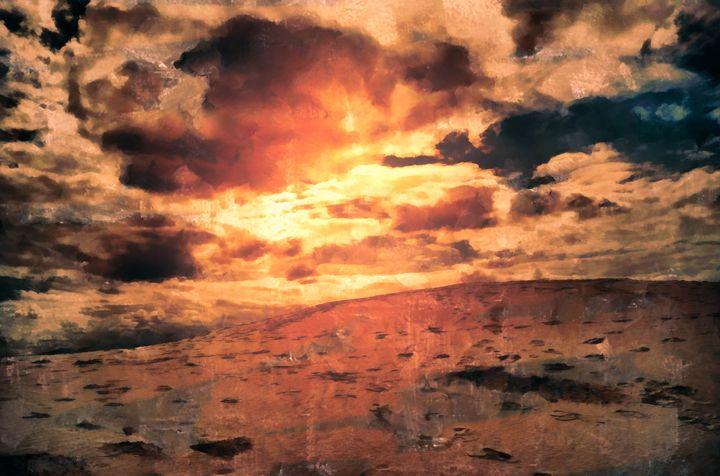 Desert Dunes 0215B - Sherri Schrader Art