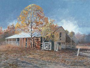 Old Barn - East Texas | Texas Art