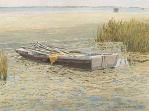Duck Blind - Boat | Texas Art Prints