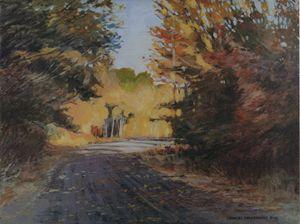 Fall Trees | Texas Art Prints