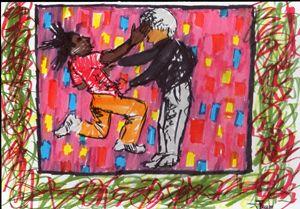 Basquiat and Warhol.