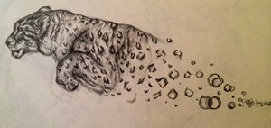 Bubble Leopard