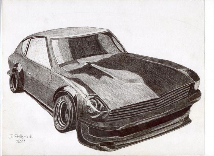 1974 Nissan Fairlady Z - Justin Philbrick