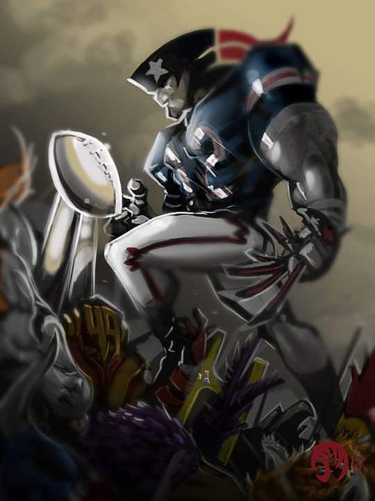 Victorious Patriot - JAM Sketch