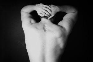 Male Figure (scar)