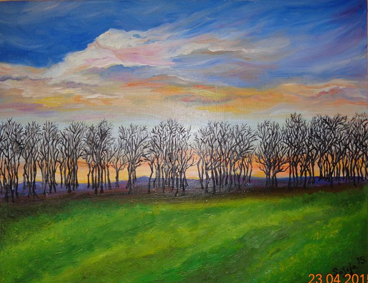 Line of Trees - Sofija