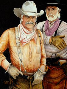 Gus and Woodrow, Lonesome Dove