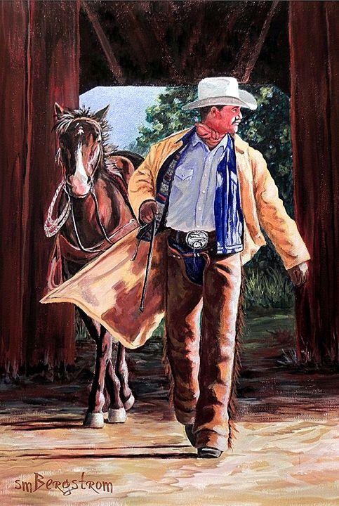 Cowboy Sunrise - Elbow Canyon Fine Art And Photography