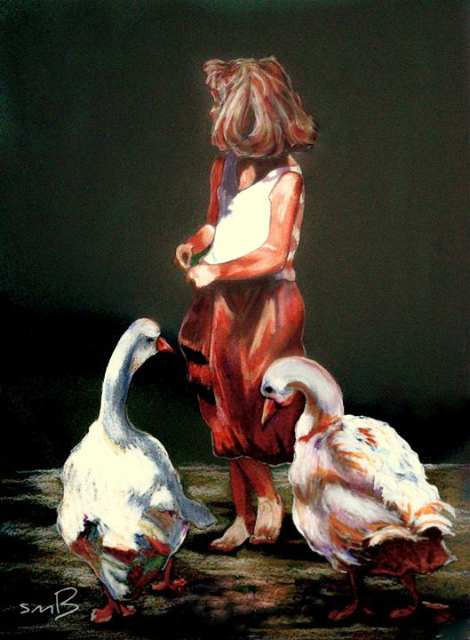 Little Mother Goose - Elbow Canyon Fine Art And Photography