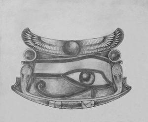 Ancient Egyptian Eye