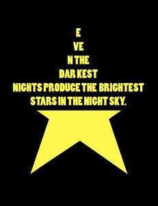 Darkest nights, Bright stars