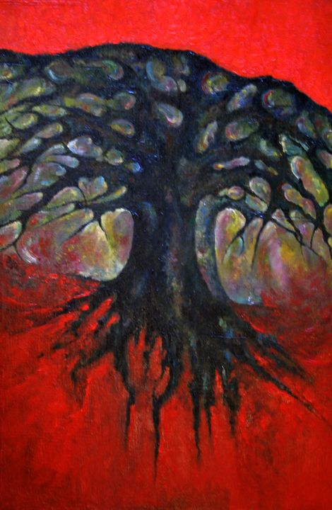 Red Tree - Wojtek Kowalski