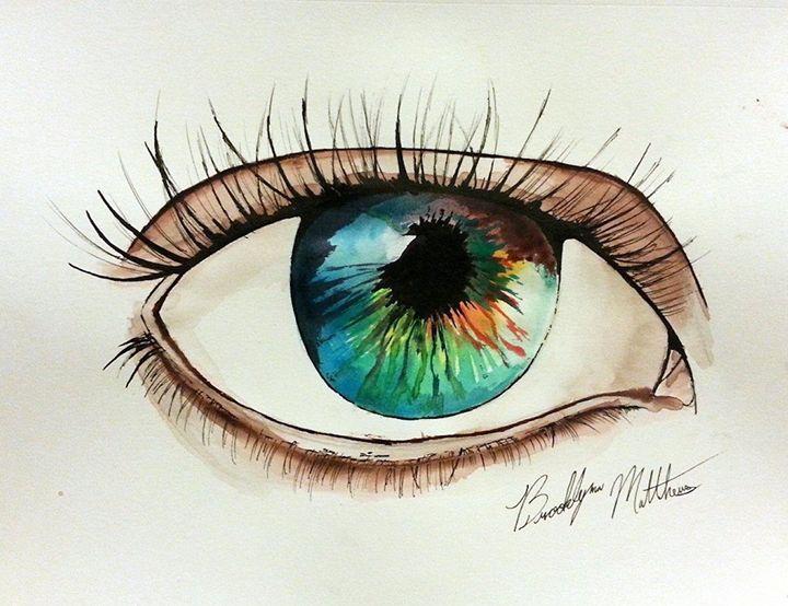 """Eye of Peace"" - Art by Brooklynn Matthews"