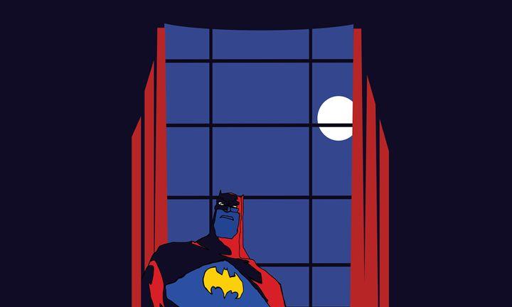 The Dark Knight who wasn't - Mickey MacKenna Artist