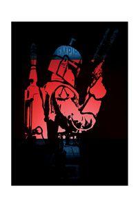 Boba Fett Art poster