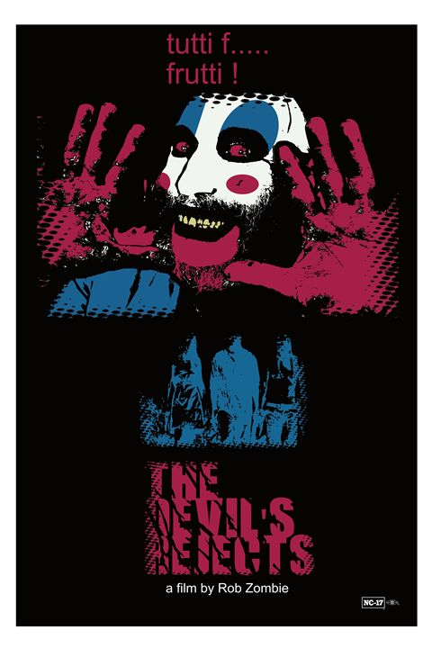 Devils Rejects Poster Art - Mickey MacKenna Artist