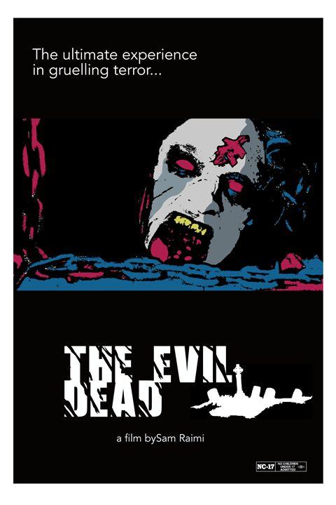 Evil Dead poster art - Mickey MacKenna Artist