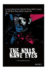 The Hills Have Eyes poster art