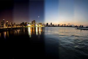 Chicago Skyline Time Slice - Sven Brogren Photography